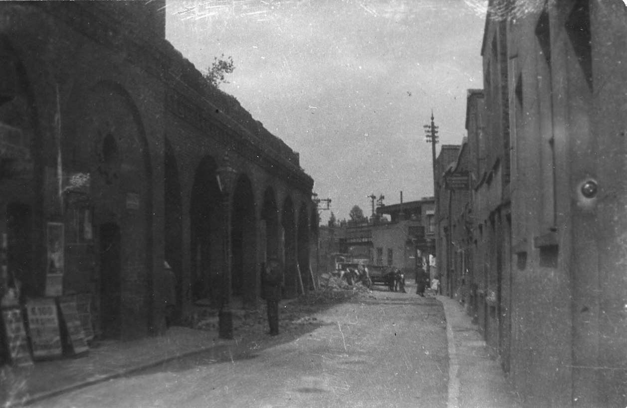 Loughborough junction station Rathgar road in the 1920s