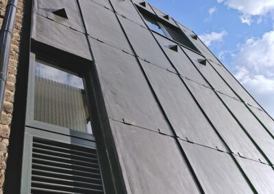 lead cladding architectural detail